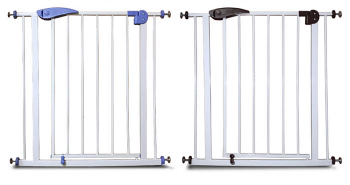 Pet door gate,easy step Extra tall pet gate