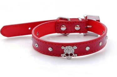 Crocodile Skull dog pet collars