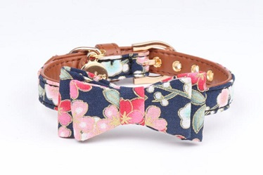 New styles-bow tie dog collars cat collar for small medium large pets
