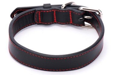 Heavy duty Genuine leather dog collars leash/pet products