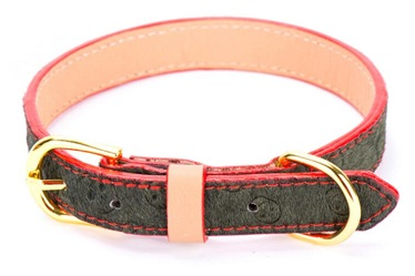 horse hair classical pet dog collars leashes/pet products