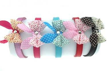 PU leather dog cat collars for small pets/Pet products