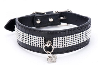 Pet products/PU leather pet collars leashes for medium and large dog