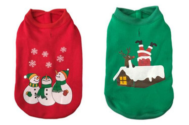 Pet Christmas coat/dog clothes /pet products