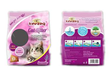 China Silica Gel Crystal Cat Litter/Crystal Cat Litter